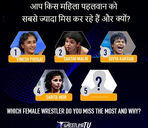 Which female Wrestler do you miss the most and Why?