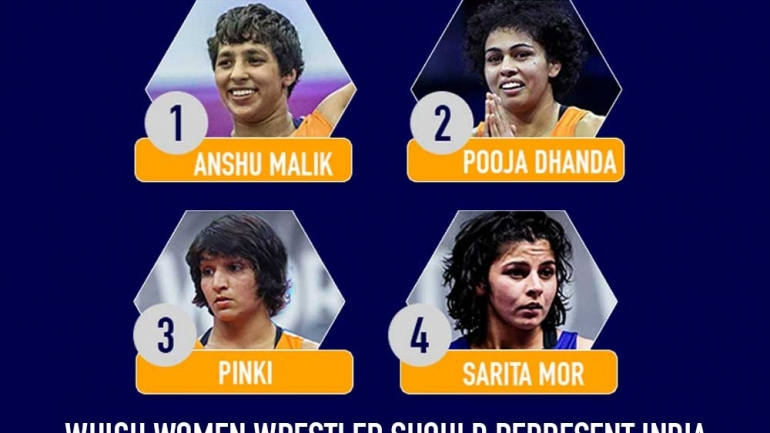 Which Women wrestler should represent India at Tokyo Olympics in 57kg?