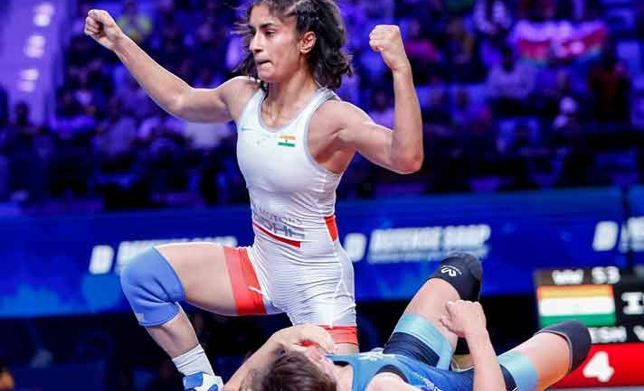 Khel Ratna Award 2020: Vinesh Phogat to be nominated by Wrestling Federation of India