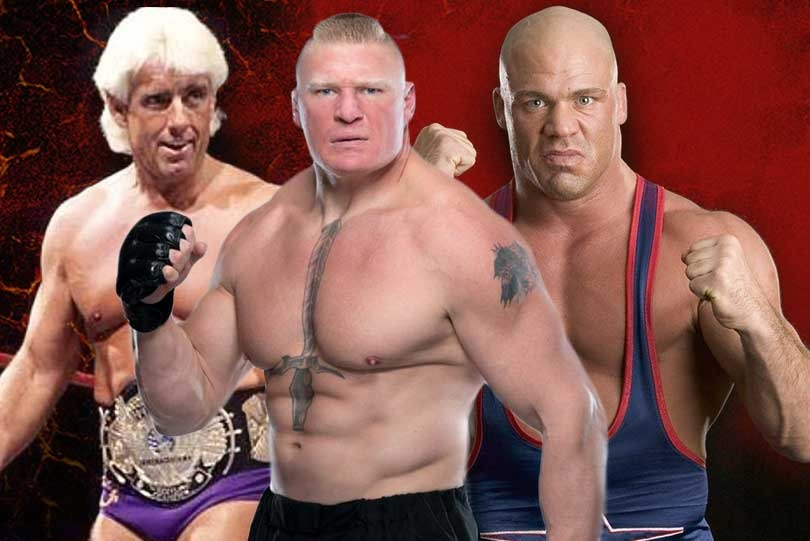 Top 5 WWE superstars that you did know were once successful wrestlers too