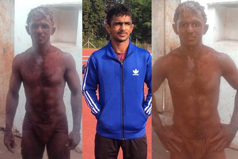 Asian C'ship medallist Arjun Halakurki seeks alternative weight training methods due to lack of basic equipments