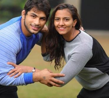 Watch LIVE: Commonwealth Games medallist Pawan Kumar drops massive hint on Geeta Phogat's future wrestling plans