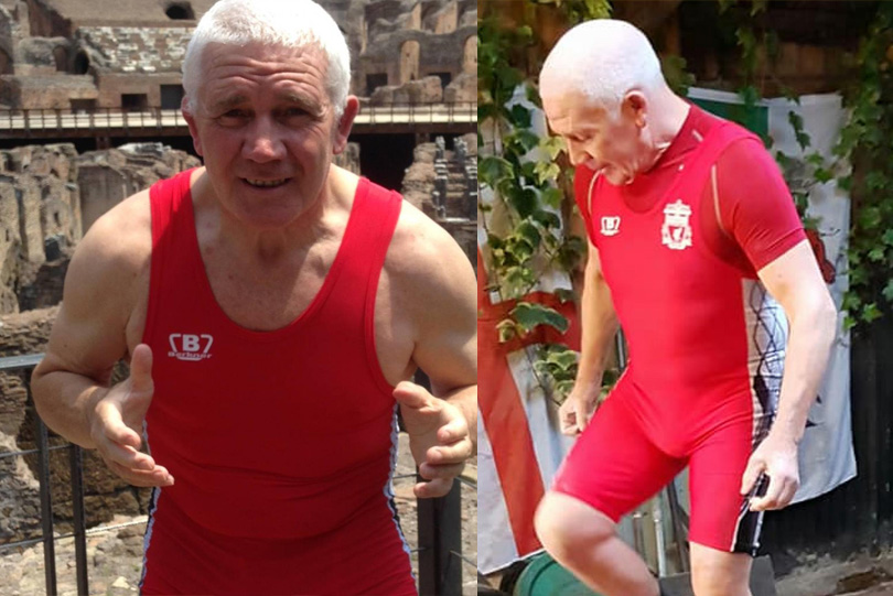 Wrestling News: Meet 67-year-old Tony Collins, world champ who is inspiring everyone with his workout videos