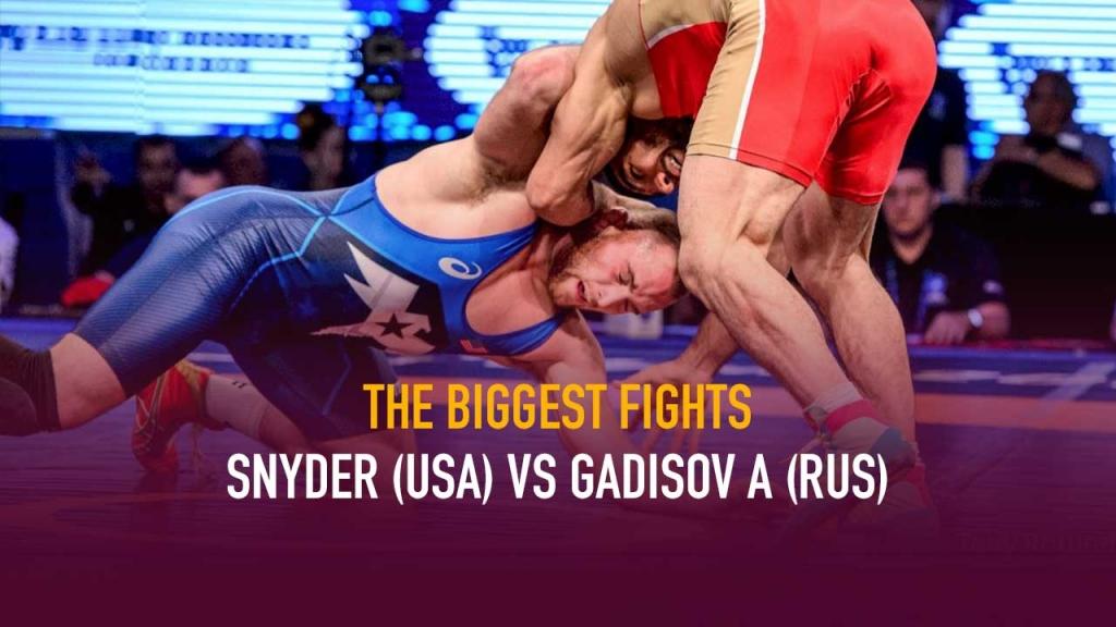 Kyle Snyder,Gadisov A,USa Wrestling,Watch Wrestling,Wrestling LIVE