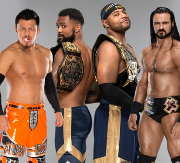 The new WWE champions after recent WWE Raw episode