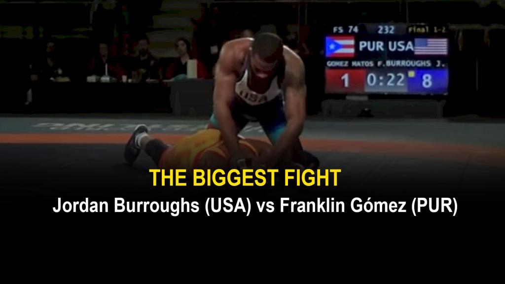 Jordan Burroughs,Franklin Gómez,Biggest Wrestling Fight,Watch Wrestling,Wrestling LIVE