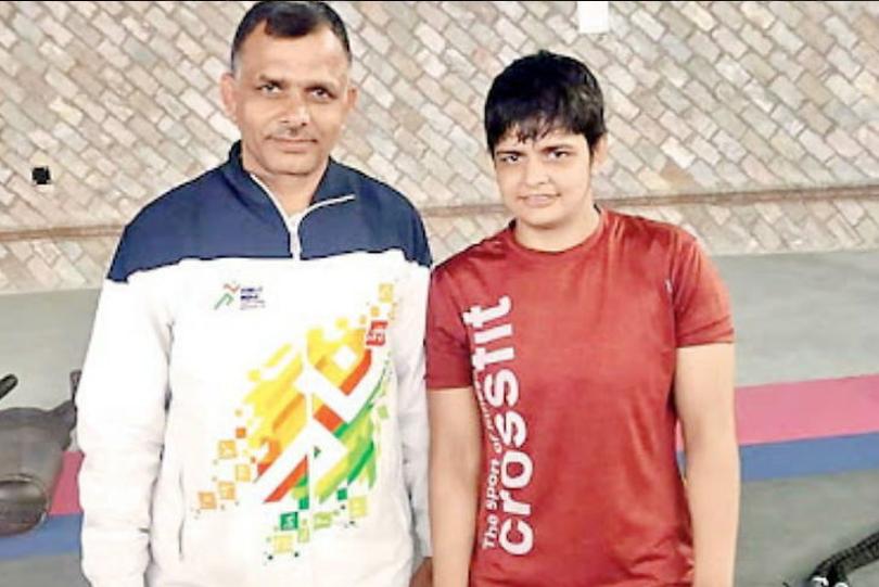 Sonam Malik takes tennis lessons to improve her wrestling skills