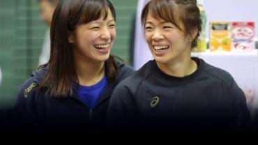 Asian champ Yukako Kawai dreams of winning Olympic medal with sister Risako