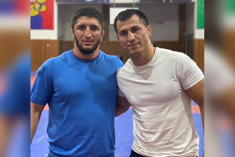 Olympic champions Sadulaev and Roman Vlasov resume training as Russia restarts national camp