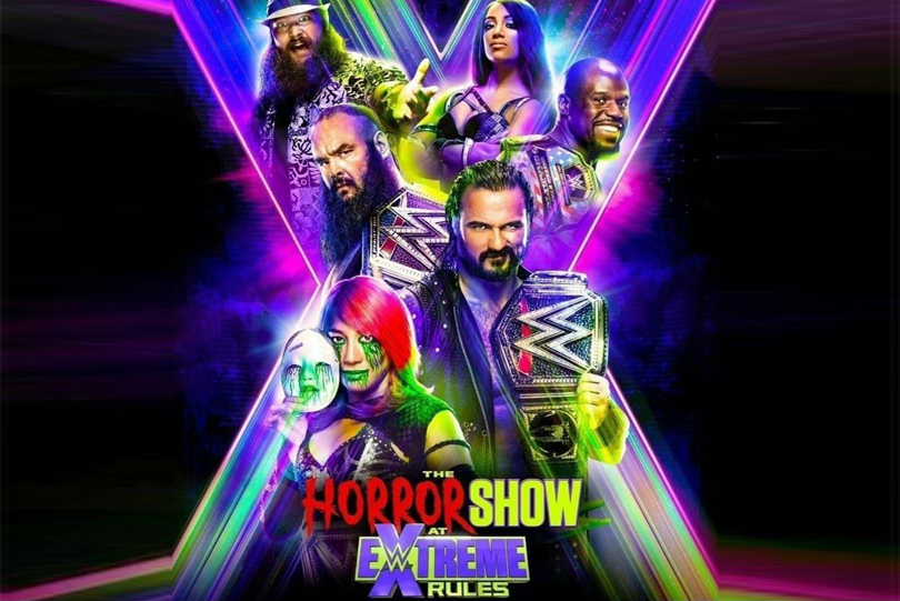 WWE Extreme Rules 2020: WWE reveals official poster for Horror ...