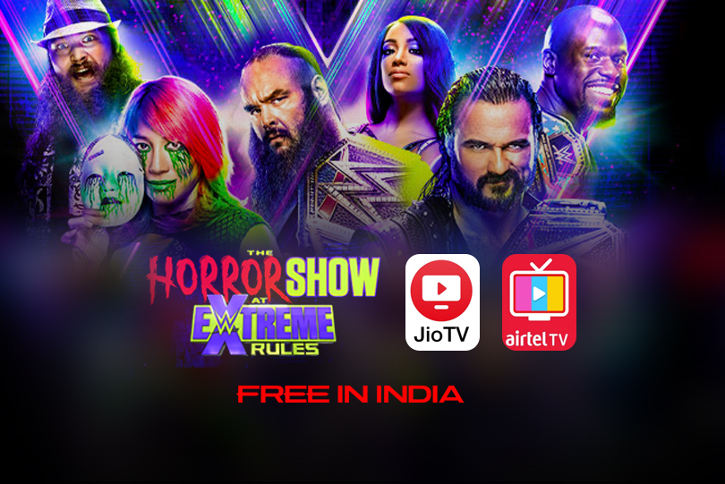 WWE Extreme Rules 2020 Preview: Watch Horror Show at Extreme Rules LIVE free in India on AirtelTV and JioTV