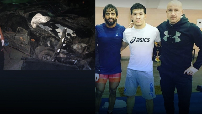 5 champion wrestlers of Kazakhstan die in car crash; Bajrang Punia, Shako pay condolences