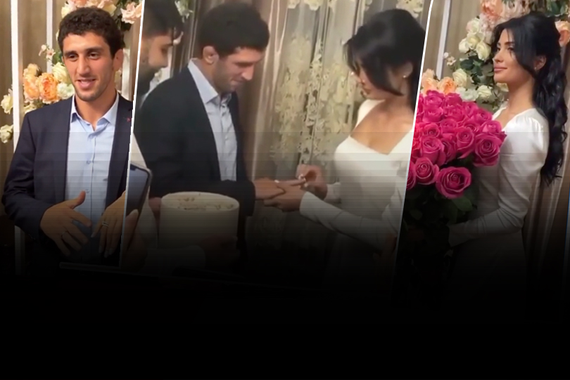 World Champion Sidakov ties knot, see beautiful pictures of the newly-wed couple