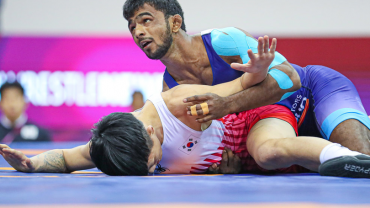 Asian Championship medallist Arjun Halakurki skip wrestling camp due to injury