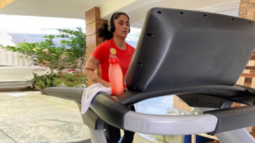 Road to recovery: Vinesh Phogat back in training mode after battling Covid-19