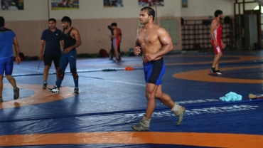 Narsingh Yadav on toes 24/7 as he returns to national camp after 4-years