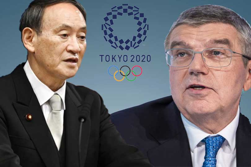 IOC Chief Bach hopes to meet new Japan PM Suga  in October to discuss Tokyo Olympics