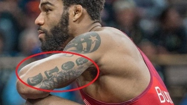 Picture story: Olympic champion Burroughs 13 tattoos and their meanings