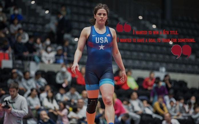 "Five-time World champ Adeline Gray ""sad"" as USA pulls out of world championship"