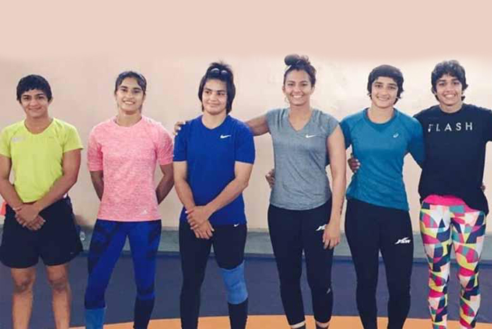 Vinesh Phogat to train with sister at women's wrestling camp