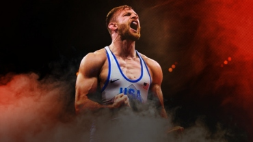 "World Champion David Taylor declares, ""I'll be ready"" for World Championship"