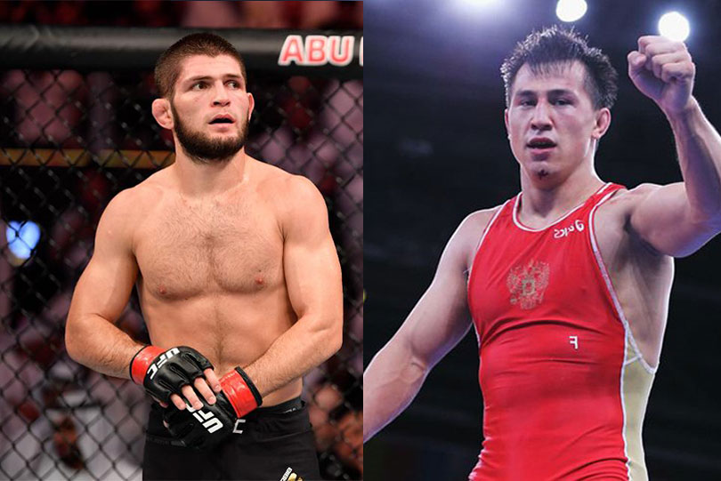 "Olympic champ Roman Vlasov supports Khabib's decision to retire, says ""You made history brother"""