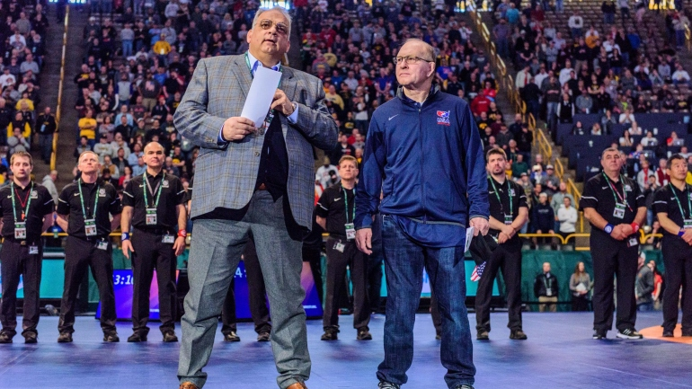 American Wrestling Great Dan Gable Receives Presidential Medal of Freedom