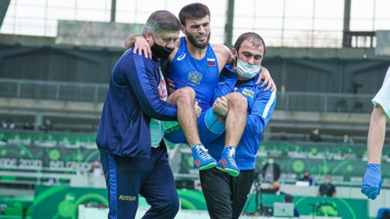 Individual World Cup: Bajrang Punia's biggest opponent Rashidov 'suffers CARRER threatening injury'