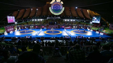 Wrestling National Championship Day 1 Results