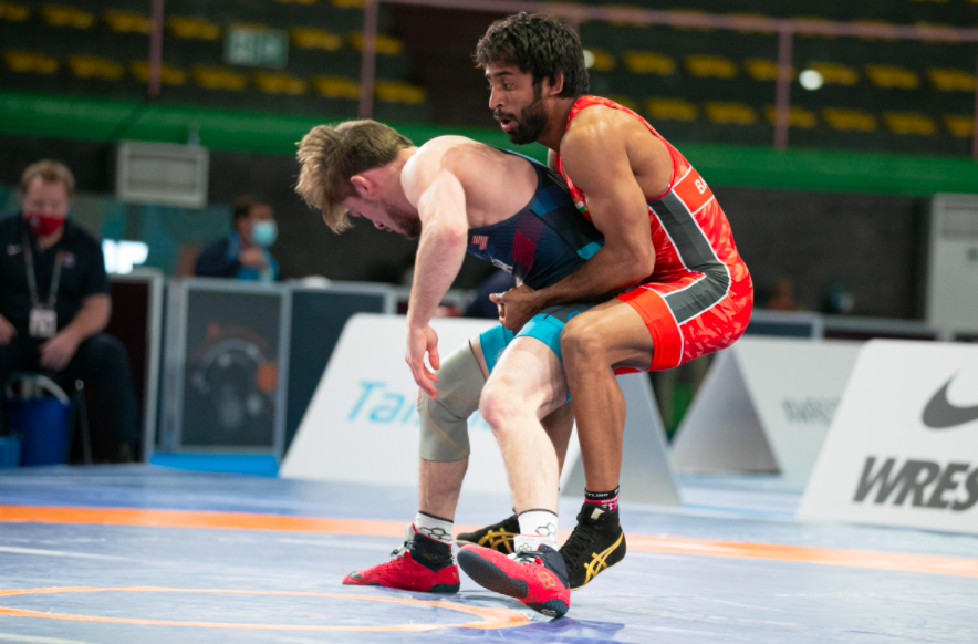Rome Rankings Series: Bajrang Punia wins gold at  Matteo Pellicone, becomes World No.1