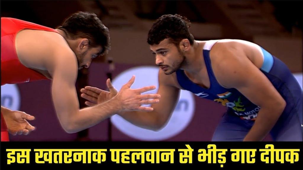 Asian Wrestling Championships: इस खतरनाक पहलवान से भीड़ गए दीपक: Deepak Punia Final