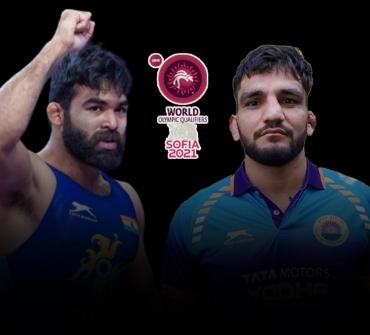 World Wrestling Olympic Qualifiers: All eyes on Wrestler Sunil Kumar and Gurpreet on Day 3