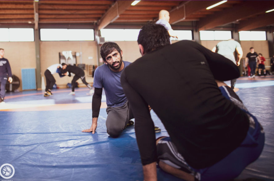 Tokyo Olympics: Ace Wrestler Bajrang Punia reaches Russia for training camp