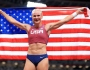 Tokyo Olympics- Athletics: USA's Katie Nageotte overcomes shaky start to win GOLD in women's pole vault