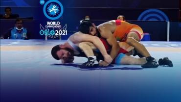 Wrestling World Championship LIVE: Wrestler Ravinder stuns defending champion before losing in quarterfinals, others fizzle out